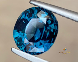 HGTL~Outstanding 3.3 Carats Natural Sapphire