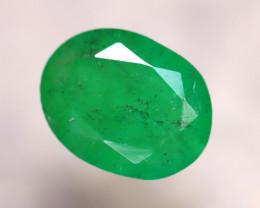 Emerald 1.93Ct Natural Zambia Green Emerald E2518/A38