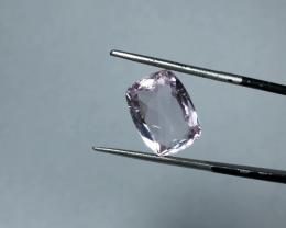 6.90 carats, Natural Pink Kunzite.