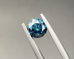 Beautiful Blue Diamond 1.01 Cts Nice Color Gemstone