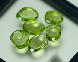 6.890 CRT PARCEL AWESOME NATURAL GREEN PERIDOT AMAZING COLOR-