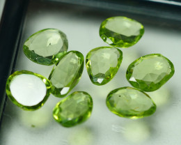 8.065 CRT PARCEL AWESOME NATURAL GREEN PERIDOT AMAZING COLOR-