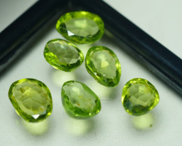 7.915 CRT PARCEL AWESOME NATURAL GREEN PERIDOT AMAZING COLOR-