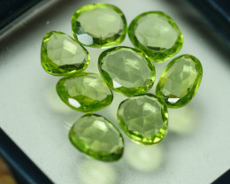 8.190 CRT PARCEL AWESOME NATURAL GREEN PERIDOT AMAZING COLOR-