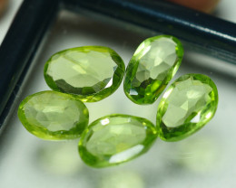 6.830 CRT PARCEL AWESOME NATURAL GREEN PERIDOT AMAZING COLOR-