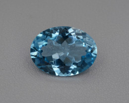 Natural Blue Topaz 10.33 Cts Top Quality.