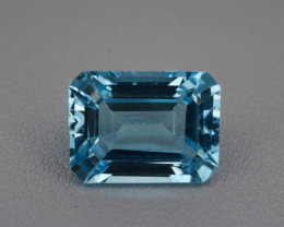 Natural Blue Topaz 10.48 Cts Top Quality Gemstone.