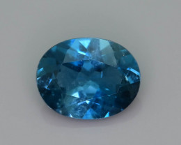 Ring Size Topaz 2.00 Ct Natural London Blue Topaz