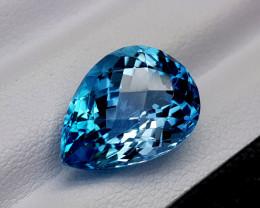 9Crt Blue Topaz Natural Gemstones JI69