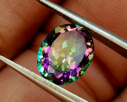 2.48Crt Mystic Quartz Natural Gemstones JI69