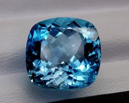 18.75Crt Blue Topaz Natural Gemstones JI69