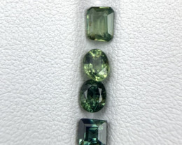 2.05 Ct Untreated Bi-Color Green-Blue Sapphire. Sp-5890