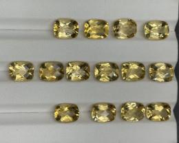 26.50 CT Citrine Gemstones parcel