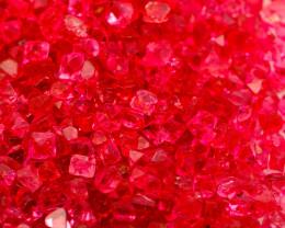 VIVID! JEDI! $3,500 215 CT Red Pink Rough Spinel Lot (BURMA) RUJP