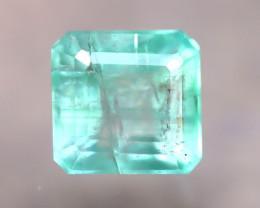 Emerald 2.43Ct Natural Zambia Green Emerald D2609/A38