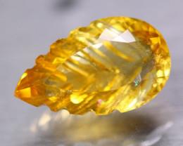 13.55ct Natural Yellow Citrine Fancy Cut Lot V7746