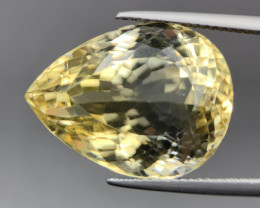 20.55 Cts Top Excellent Luster Yellow Citrine. Ctr-3203