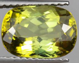 2.98CT 10X7MM Pistachio Green Natural Mozambique Tourmaline-PTA857