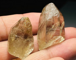 Amazing Natural color Beautiful Smokey 2 Quartz Crystal 106Cts-Pakistan
