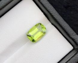 2.30 Ct Untreated Green Peridot .A.