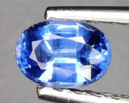 1.00 CTS EXCELLENT RARE BLUE SAPPHIRE COLOR NATURAL KYANITE OVAL GEM