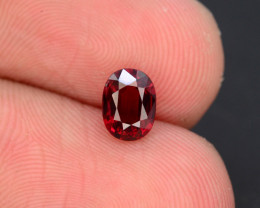 Blood Red 0.75 Ct Rare Spinel - Burma
