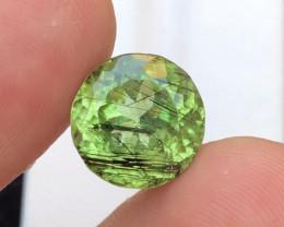 200$~7.30 Ct Natural Beautiful Rutile Peridot Gemstone