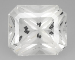 *NoReserve*Topaz 5.71 Cts White Natural Gemstone Laser Cut