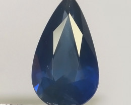 1.10 CTS EXCEPTIONAL NATURAL SAPPHIRE BLUE MADAGASCAR