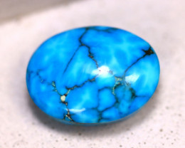 Turquoise 10.66Ct Natural Blue Color Sleepy Beauty Turquoise E2720/C1