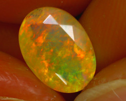 Welo Opal 1.43Ct Natural Ethiopian Faceted Welo Opal D2826/A44