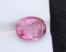 6.76 ct natural pink spinel from Tajikistan