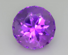 AAA Cut & Color 33.51 ct Untreated Amethyst~P