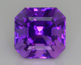 AAA Cut & Color 24.48 ct Untreated Amethyst~P