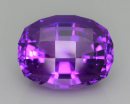 AAA Cut & Color 25.27 ct Untreated Amethyst~P