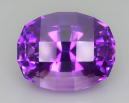 AAA Cut & Color 27.35 ct Untreated Amethyst~P