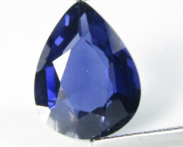 3.28Cts Amazing Natural Unheated Iolite Paer Shape Loose Gemstone REF VIDEO