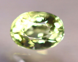 Tourmaline 1.36Ct Natural Green Color Tourmaline D3014/B49