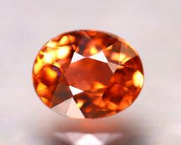 Tourmaline 1.16Ct Natural Reddish Orange Tourmaline D3015/B49