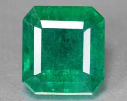 Emerald 3.80 Cts Vivid Green Color Natural Emerald