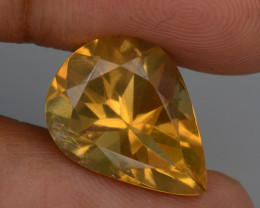Natural Citrine 7.96 Cts, Top Quality Gemstone