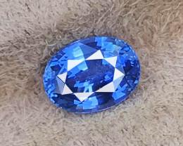 3.00 CT SAPPHIRE CORN FLOWER BLUE UNHEATED 100% NATURAL MINE SRI LANKA