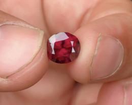 Top Grade 2.50 ct lovely Garnet Ring Size~M