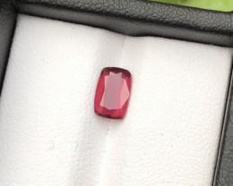 Top Grade 1.30 ct lovely Garnet Ring Size~M