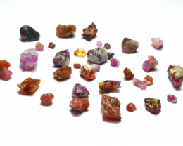Amazing Natural color rough Ruby lot  50Cts-GN-1