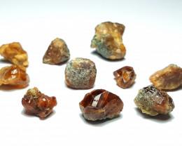 Amazing Natural color Spessartine Garnet Rough / Crystal max lot 100GA/2