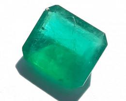 Polished Natural emerald – 2.26 ct ( Emerald Cut)