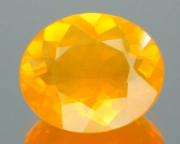 *$15NR*Mexican Fire Opal Oval 2.06Ct
