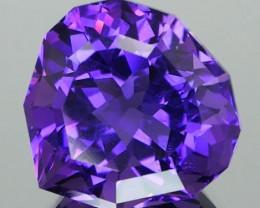 *$15NR* Royal Purple Uruguay Amethyst 11.94Ct