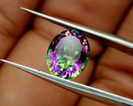 2.45Crt Mystic Quartz Natural Gemstones JI71